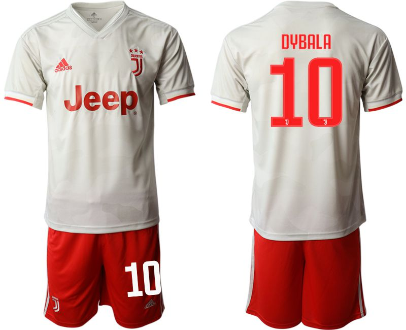 Men 2019-2020 club Juventus FC hoaway 10 white Soccer Jerseys