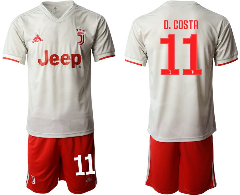 Men 2019-2020 club Juventus FC hoaway 11 white Soccer Jerseys