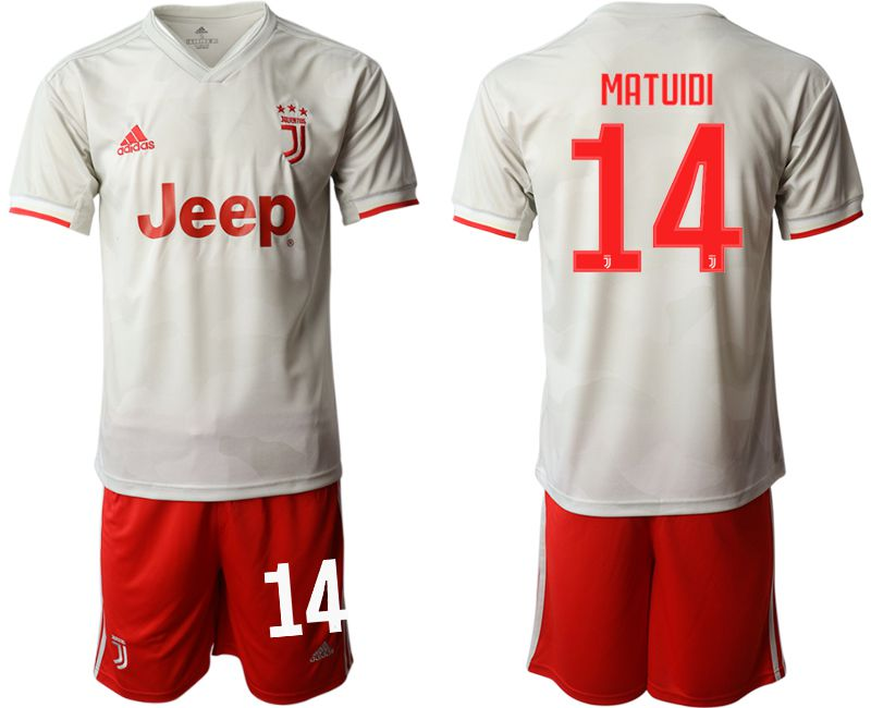 Men 2019-2020 club Juventus FC hoaway 14 white Soccer Jerseys