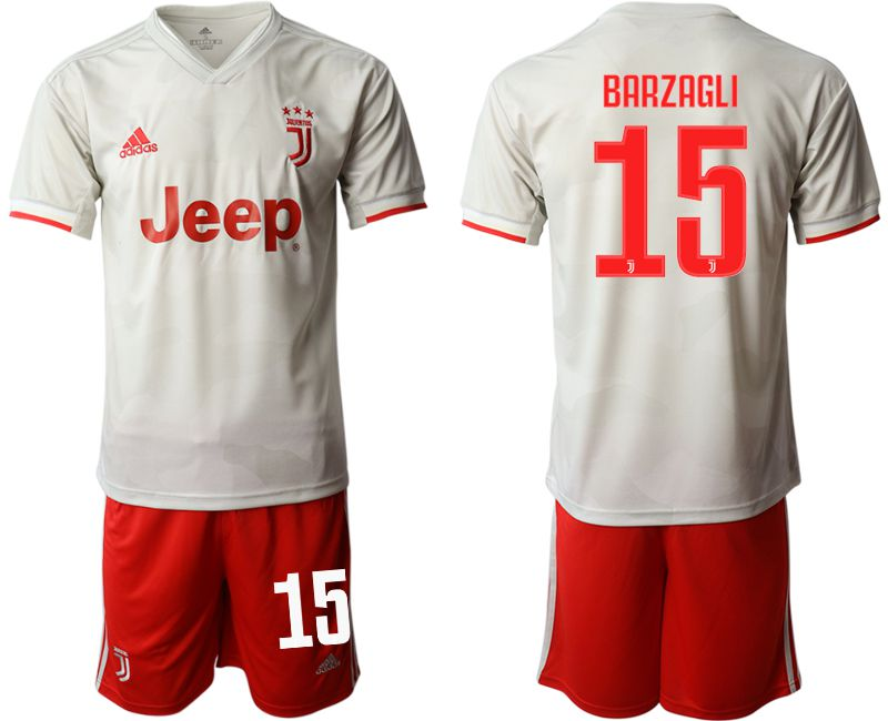 Men 2019-2020 club Juventus FC hoaway 15 white Soccer Jerseys