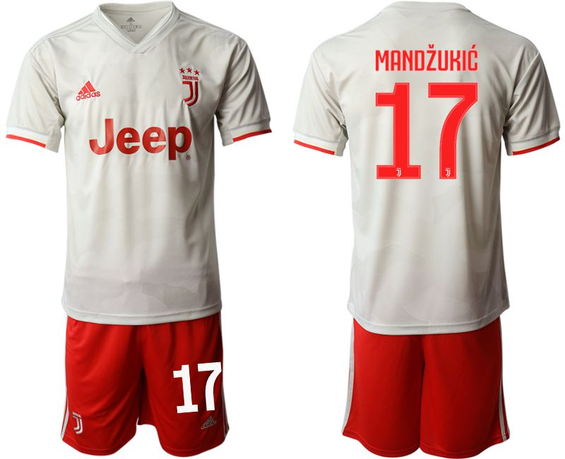 Men 2019-2020 club Juventus FC hoaway 17 white Soccer Jerseys