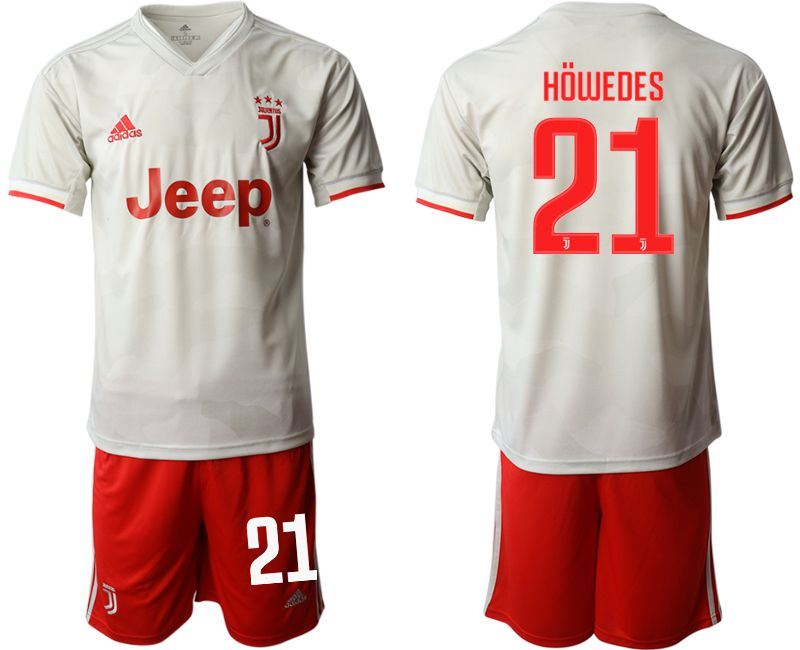 Men 2019-2020 club Juventus FC hoaway 21 white Soccer Jerseys