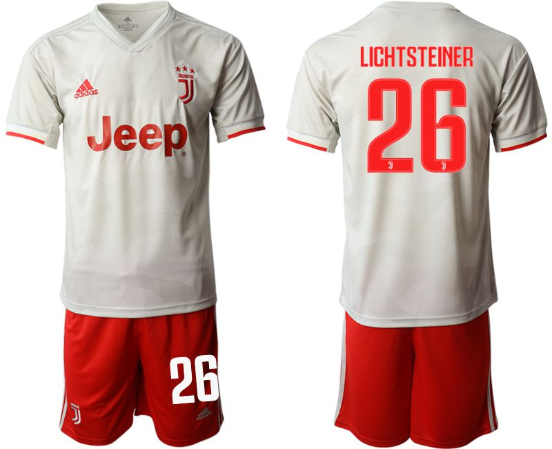 Men 2019-2020 club Juventus FC hoaway 26 white Soccer Jerseys