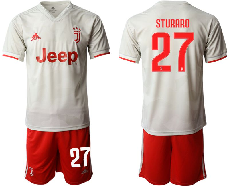 Men 2019-2020 club Juventus FC hoaway 27 white Soccer Jerseys