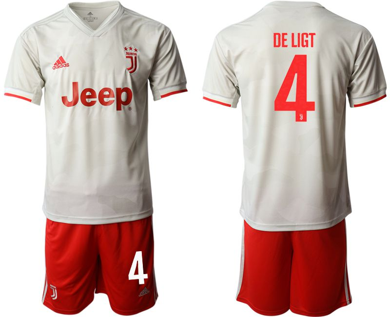 Men 2019-2020 club Juventus FC hoaway 4 white Soccer Jerseys