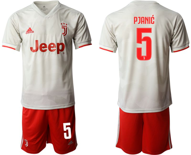 Men 2019-2020 club Juventus FC hoaway 5 white Soccer Jerseys