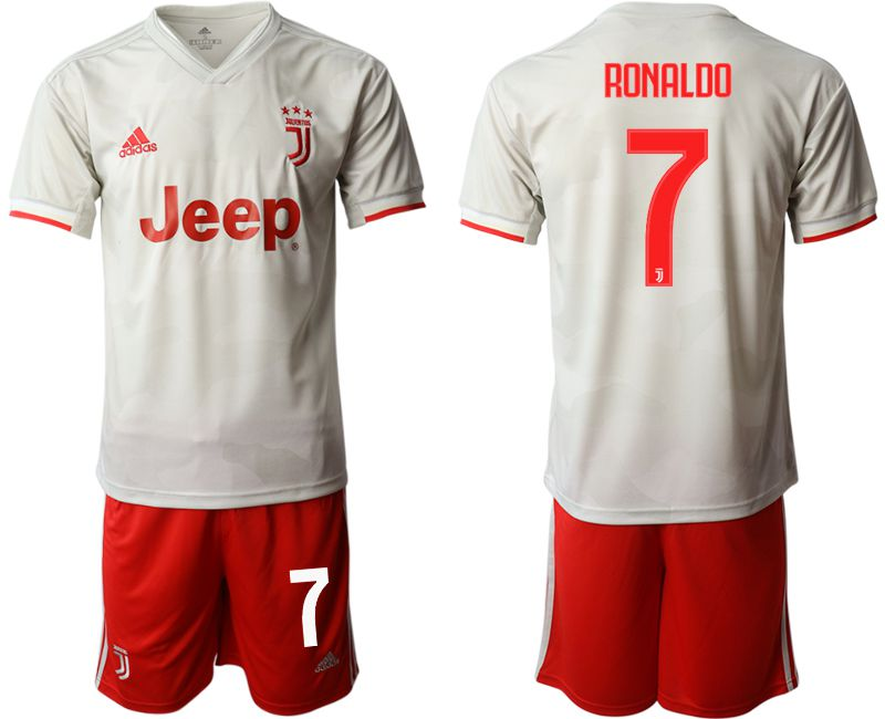 Men 2019-2020 club Juventus FC hoaway 7 white Soccer Jerseys