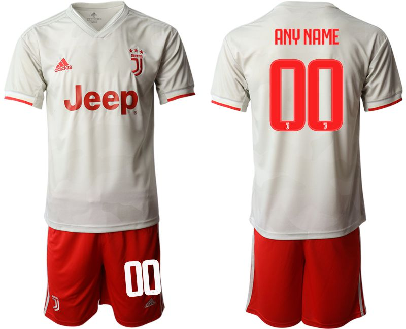 Men 2019-2020 club Juventus FC hoaway customized white Soccer Jerseys
