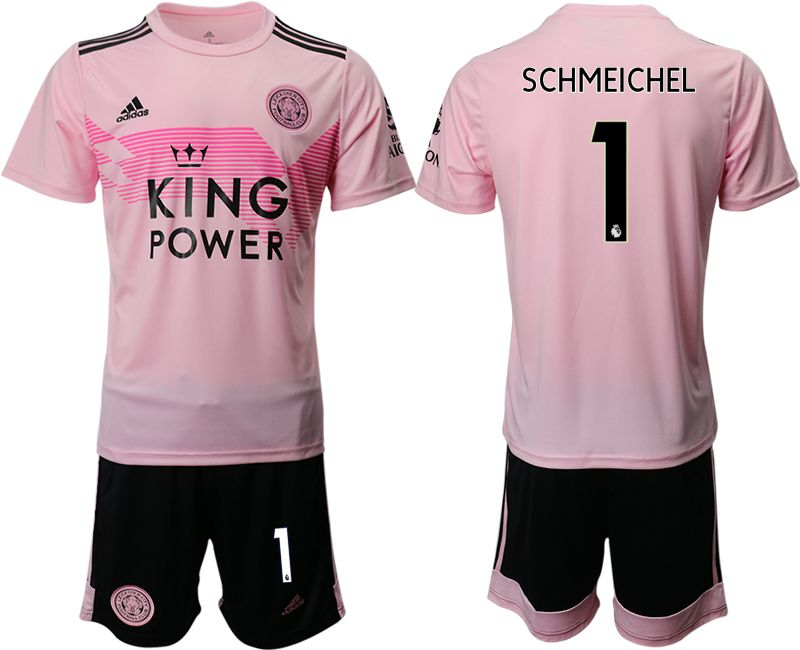 Men 2019-2020 club Leicester City away 1 pink Soccer Jerseys