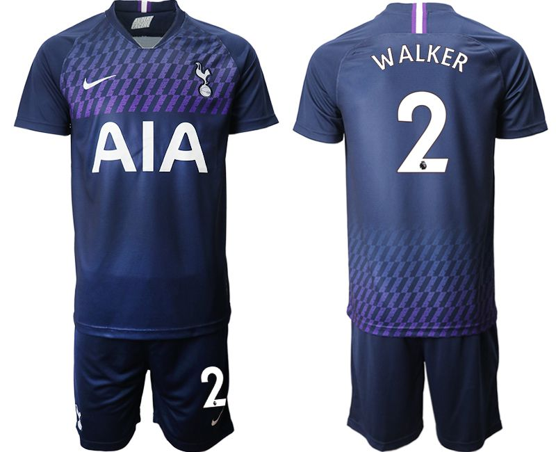Men 2019-2020 club Tottenham Hotspur away 2 blue Soccer Jerseys