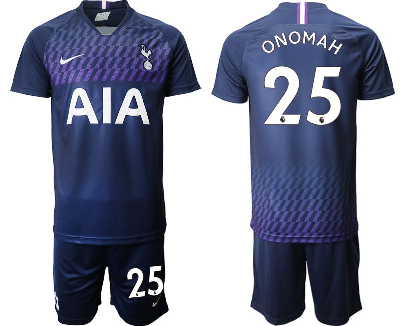 Men 2019-2020 club Tottenham Hotspur away 25 blue Soccer Jerseys