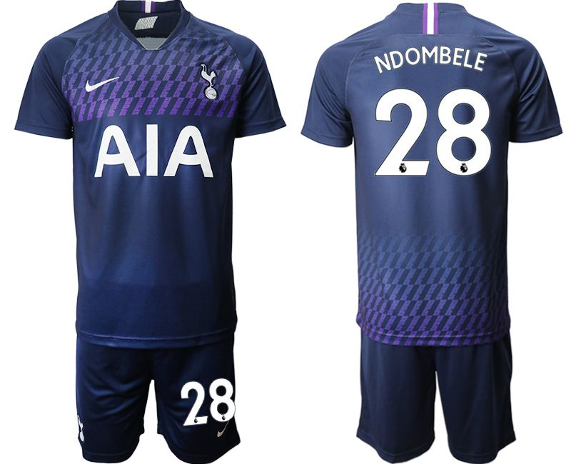 Men 2019-2020 club Tottenham Hotspur away 28 blue Soccer Jerseys