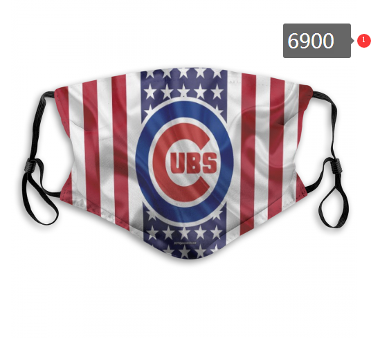 2020 MLB Chicago Cubs 1 Dust mask with filter