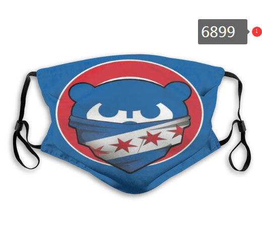2020 MLB Chicago Cubs 2 Dust mask with filter