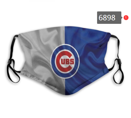 2020 MLB Chicago Cubs 3 Dust mask with filter
