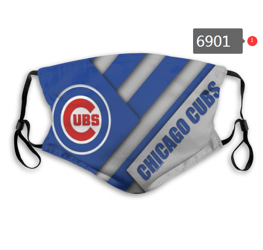 2020 MLB Chicago Cubs Dust mask with filter