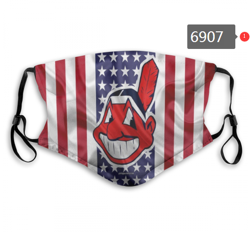2020 MLB Cleveland Indians 1 Dust mask with filter
