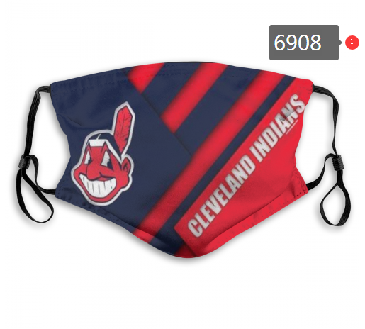 2020 MLB Cleveland Indians Dust mask with filter