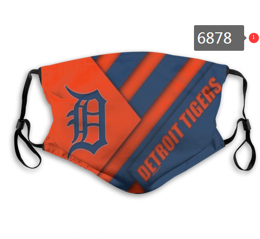 2020 MLB Detroit Tigers Dust mask with filter