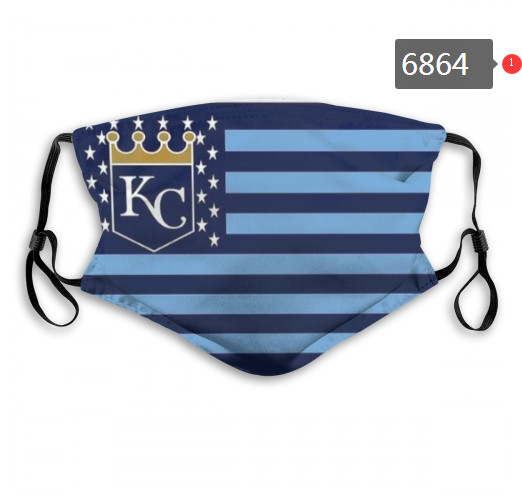 2020 MLB Kansas City Royals Dust mask with filter