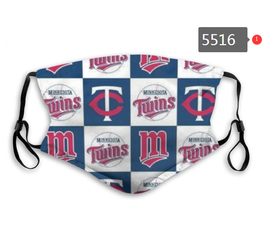 2020 MLB Minnesota Twins 2 Dust mask with filter
