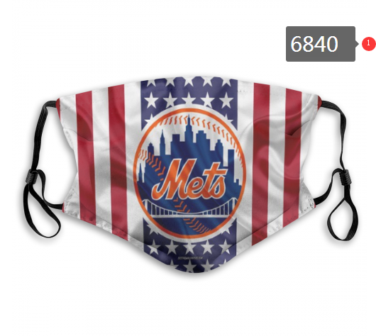 2020 MLB New York Mets 2 Dust mask with filter