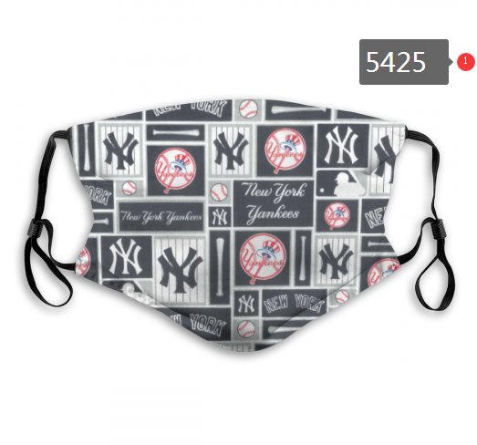 2020 MLB New York Yankees 7 Dust mask with filter
