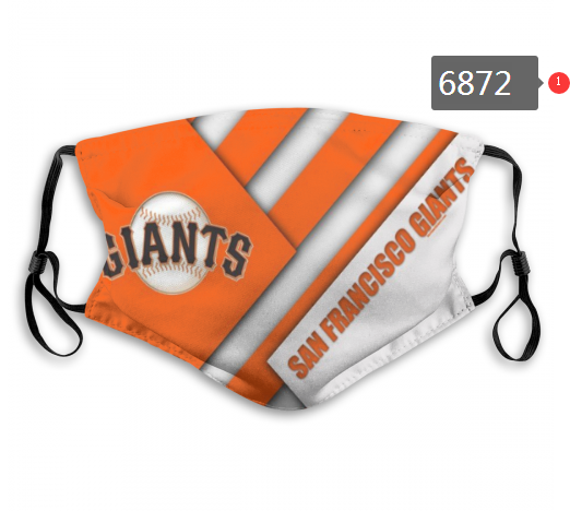 2020 MLB San Francisco Giants Dust mask with filter