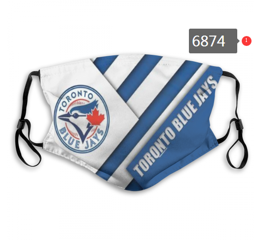 2020 MLB Toronto Blue Jays 1 Dust mask with filter