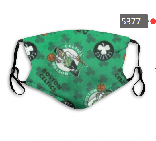 2020 NBA Boston Celtics 4 Dust mask with filter