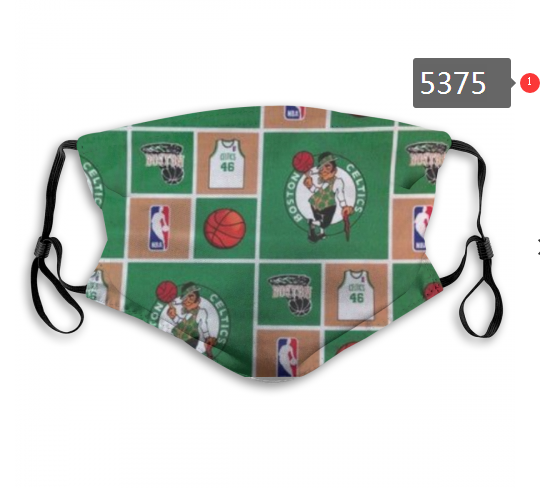2020 NBA Boston Celtics 6 Dust mask with filter