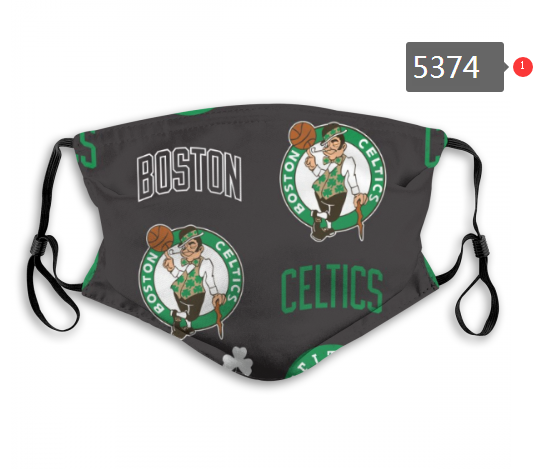 2020 NBA Boston Celtics 7 Dust mask with filter