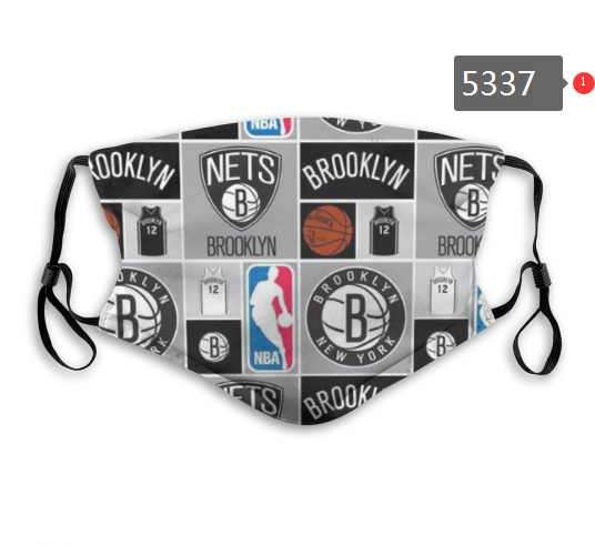 2020 NBA Brooklyn Nets 1 Dust mask with filter