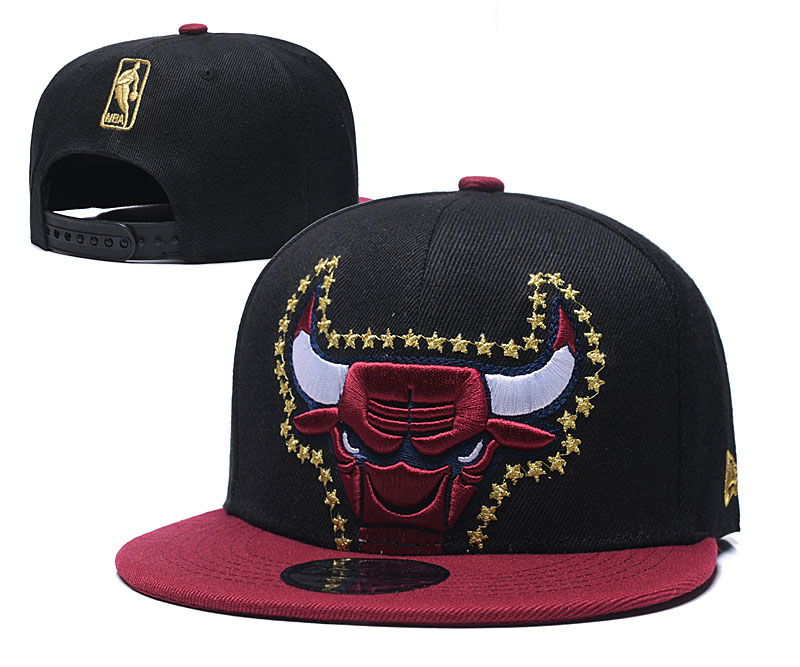 2020 NBA Chicago Bulls 4 hat