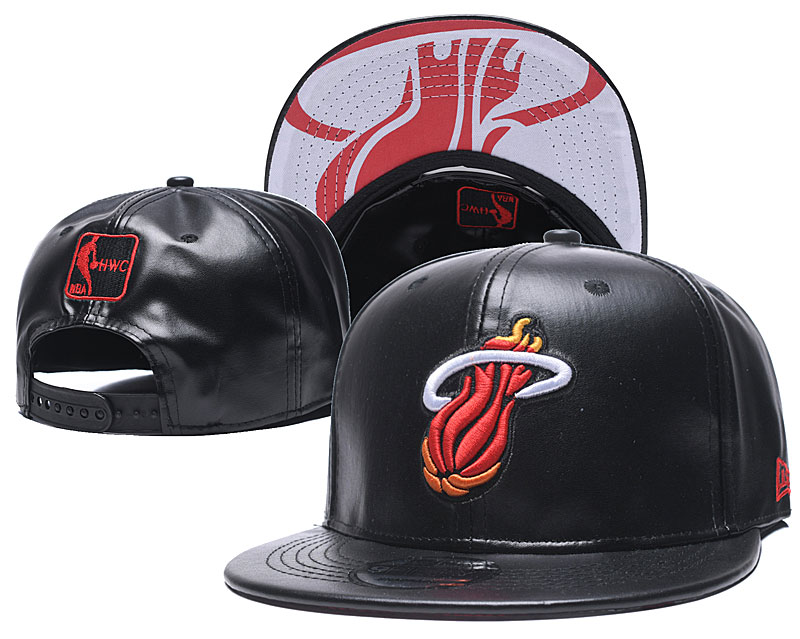 2020 NBA Miami Heat hat