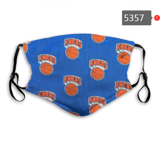 2020 NBA New York Knicks Dust mask with filter