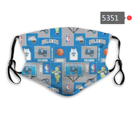 2020 NBA Oklahoma City Thunder Dust mask with filter