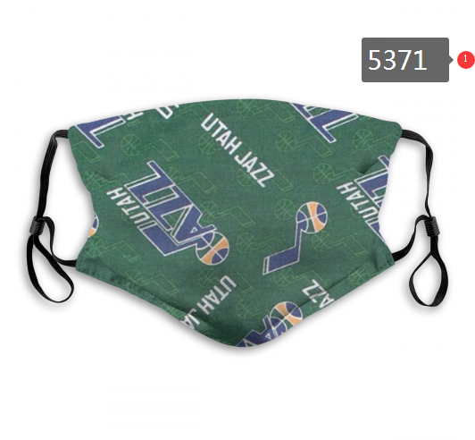 2020 NBA Utah Jazz 2 Dust mask with filter