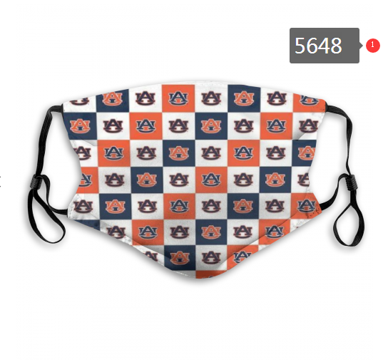 2020 NCAA Auburn Tigers 1 Dust mask with filter