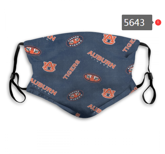 2020 NCAA Auburn Tigers 6 Dust mask with filter