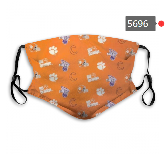2020 NCAA Clemson Tigers 6 Dust mask with filter