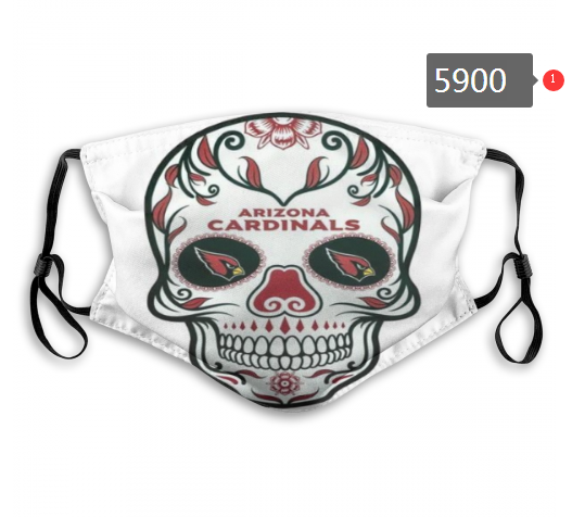 2020 NFL Arizona Cardinals 1 Dust mask with filter