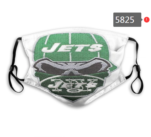 2020 NFL New York Jets 2 Dust mask with filter
