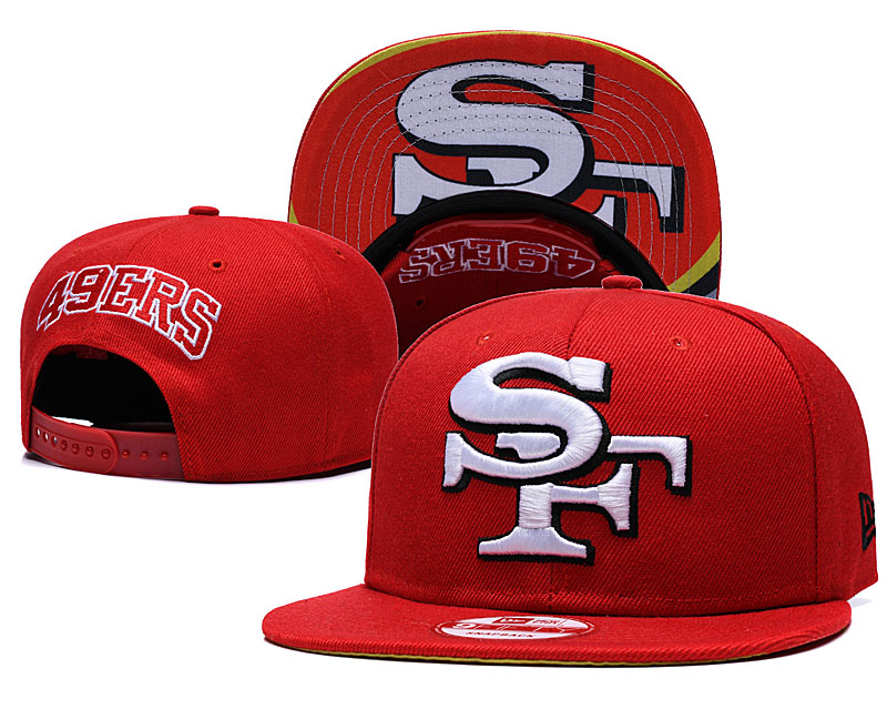 2020 NFL San Francisco 49ers hat