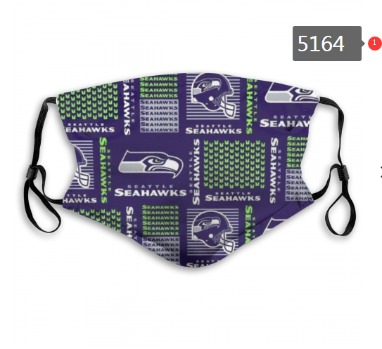 2020 NFL Seattle Seahawks 2 Dust mask with filter