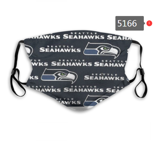 2020 NFL Seattle Seahawks Dust mask with filter