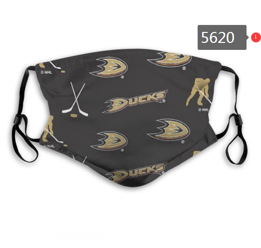 2020 NHL Anaheim Ducks 1 Dust mask with filter