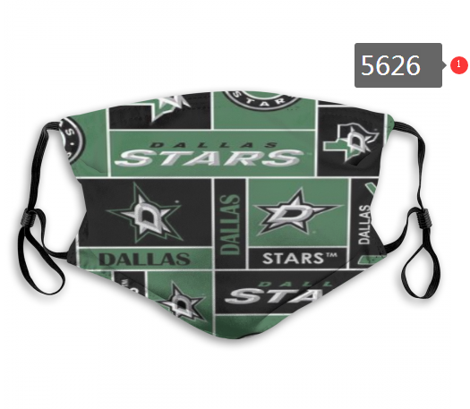 2020 NHL Dallas Stars 1 Dust mask with filter