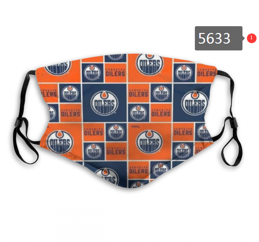 2020 NHL Edmonton Oilers Dust mask with filter