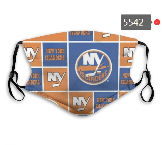 2020 NHL NEW York Islanders Dust mask with filter